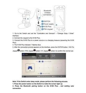 Image 5 - AOLION Coov N100 زائد ل PS4/Xbox One وحدة تحكم لاسلكية محول محول إلى نينتندو التبديل السلكية غمبد المقود محول