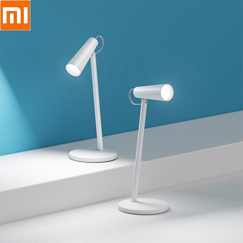 Xiaomi Mi LED Smart Desk Lamps Study Lamp Read Office Table Lamps Portable Bedside Night Light USB Rechargeable