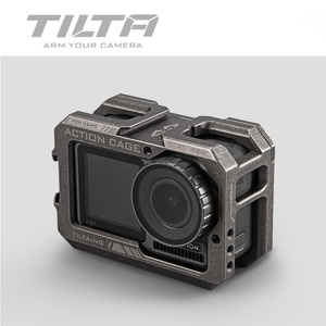 Image 3 - Tilta Cage TA T06 for Osmo ACTION Camera Cage Protect case for DJI OSMO ACTION Accessories TILTAING