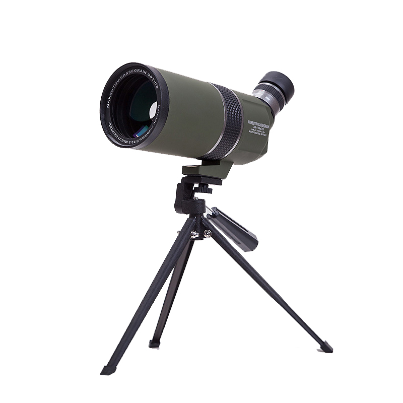38 114x70 Maksutov Cassegrain Spotting Scope with Tripod HD Optical Zoom Monocular Telescope for Outdoor Camping Bird watching