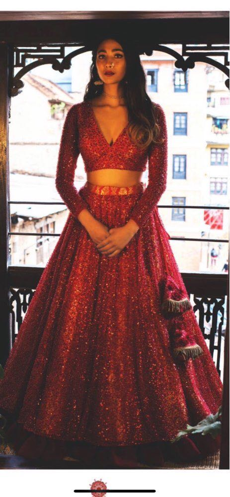 2 Piece Long Glitter Prom Dresses 2020 Long Sleeve