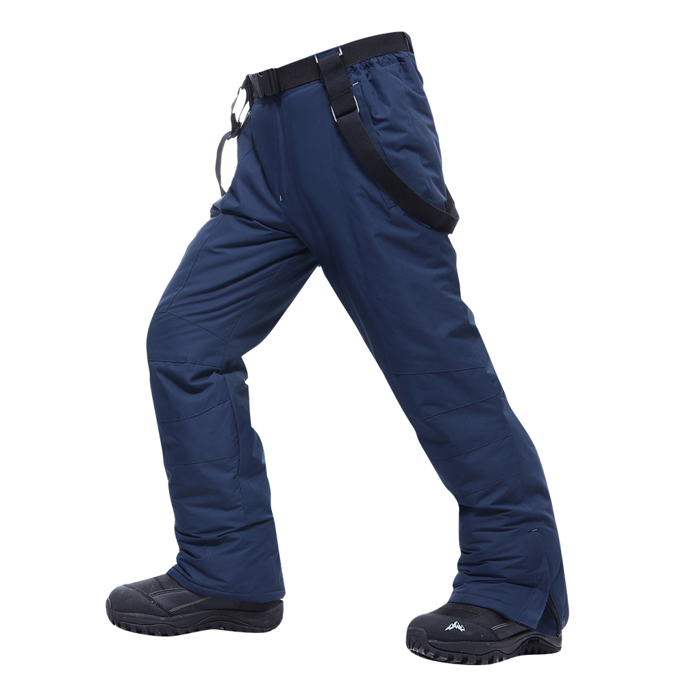 Men's Skiing Pants Brands New Warm Outdoor Sports Waterproof Thinken Women's Snow Trousers Suspenders Winter Snowboard Pants Men