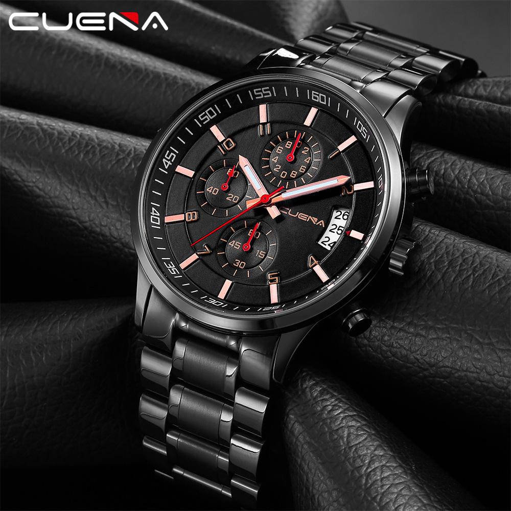 Relojes Hombre 2020 New Watches Men Luxury Brand Chronograph Male Sport Watches Waterproof Stainless Steel Quartz Men Watch