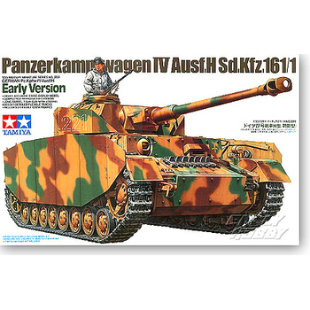 Tamiya 35209 1/35 Scale PanzerKampfwagen IV Ausf. H Early Ver. Tank Display Collectible Toy Plastic Assembly Building Model Kit недорого