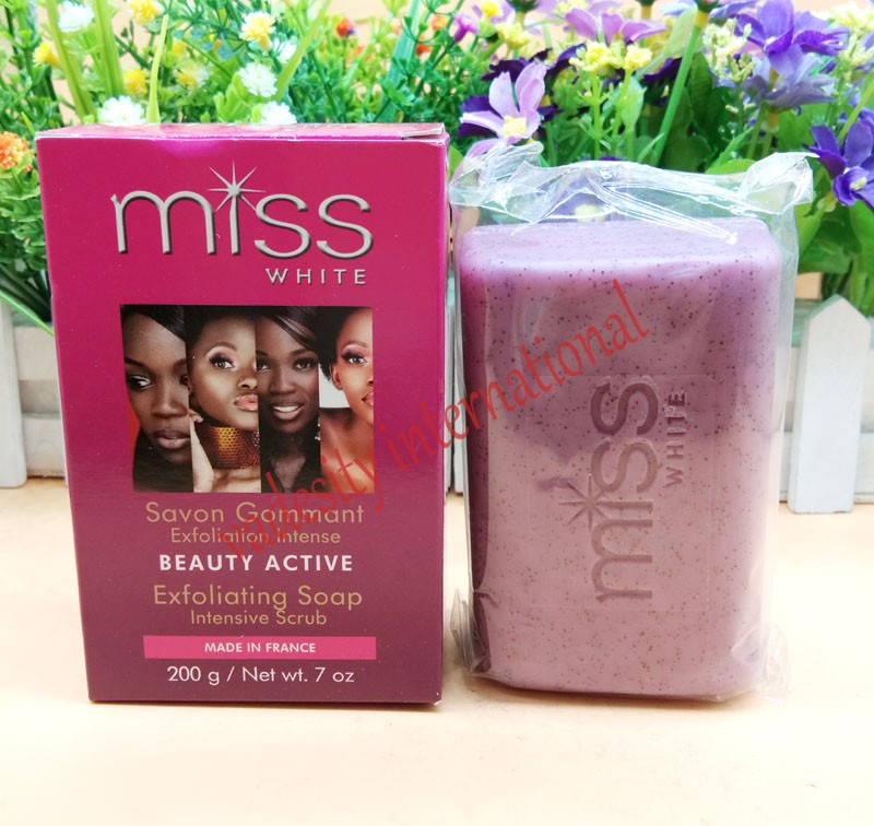 F&W Miss White Exfoliating Beauty Active Soap 200g