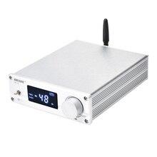Novo VOL 01 de alta fidelidade njw1194 bluetooth 5.0 aptx receber pré amplificador remoto de áudio de 5 vias pré amp com display led frete grátis