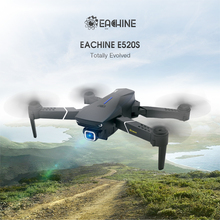 3 Days Arrival-Eachine E520S RC Quadcopter Drone WIFI FPV 4K 1080P HD Professional Wide Angle Camera High Hold Foldable Dron RTF