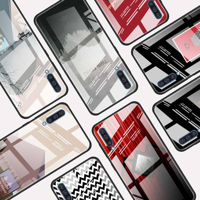 Verre trempé Étui Pour Samsung Galaxy A10 A20 A30 A40 A50 A70 A51 A71 A81 A91 A31 A41 M31 M51 Funda Capa