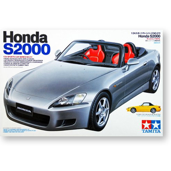 Tamiya 24211 1/24 Scale Honda S2000 Roadster AP1Sports Car Display Collectible Toy Plastic Assembly Building Model Kit недорого