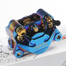 Motorcycle Rpm Brake Caliper Brake Pump 84mm Mounting 2 Piston Radial For Yamaha Kawasaki Scooter Rsz Jog Force Dirt Bike Modify rpm brand cnc brake caliper 220mm disc brake pump adapter bracket sets for yamaha electric motorcycle scooter bws zuma aerox rsz