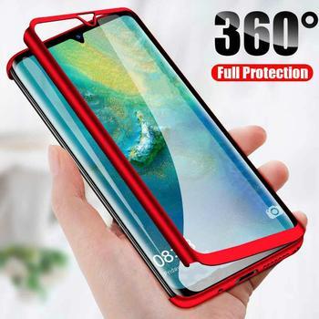 360 etui do Samsung Galaxy S21 Ultra S20 FE S10 S9 S8 Plus S7 S6 krawędzi S10E uwaga 20 Ultra 10 9 8 pełna ochrona ciała PC pokrywa tanie i dobre opinie ZUIDID CN (pochodzenie) Częściowo przysłonięte etui full body phone cases casing for samsung with tempered glass film