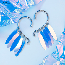Harley Quinn Earrings Birds of Prey Cosplay Women Ear Cuff C