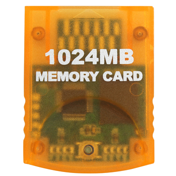 OSTENT 1024MB Memory Card Stick for Nintendo Wii Gamecube NGC Console Video Game image
