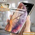 Гидрогелевая пленка с полным покрытием для iPhone 11 12 Pro XS Max mini, Защита экрана для iPhone SE 2020 XR X 10 7 6 6s 6 S 8 Plus плюс защитная для экрана пленка, пленка,...