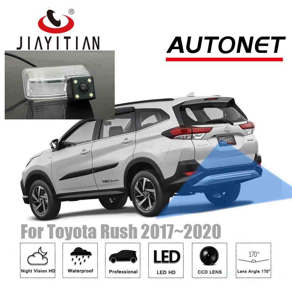 JIAYITIAN Rear View Camera For Toyota Rush 2017 2018 2019 2020 CCD/Night Vision/Reverse/Backup Parking Camera License Plate Cam