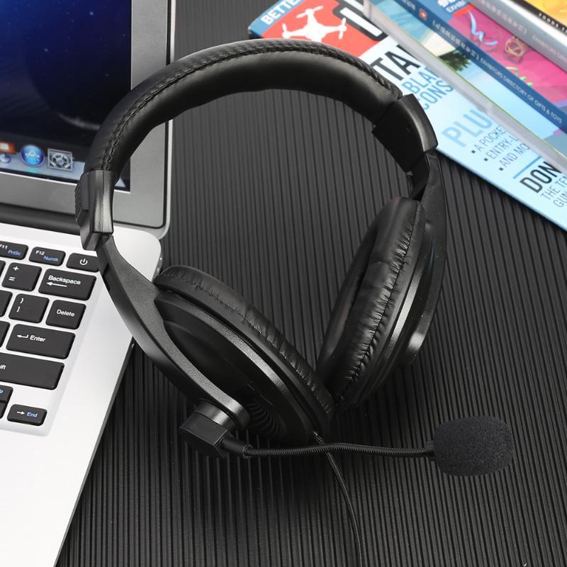 Portable Walkie Talkie Headset PTT Button Earpiece Mic Over Head Headphone Flexible Mic Walkie Talkie Accessories For Kenwood