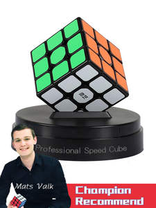 Toys Cube Puzzle Magic-Cubes Adults Qiyi Children Professional for 3--3--3 Three-Layers