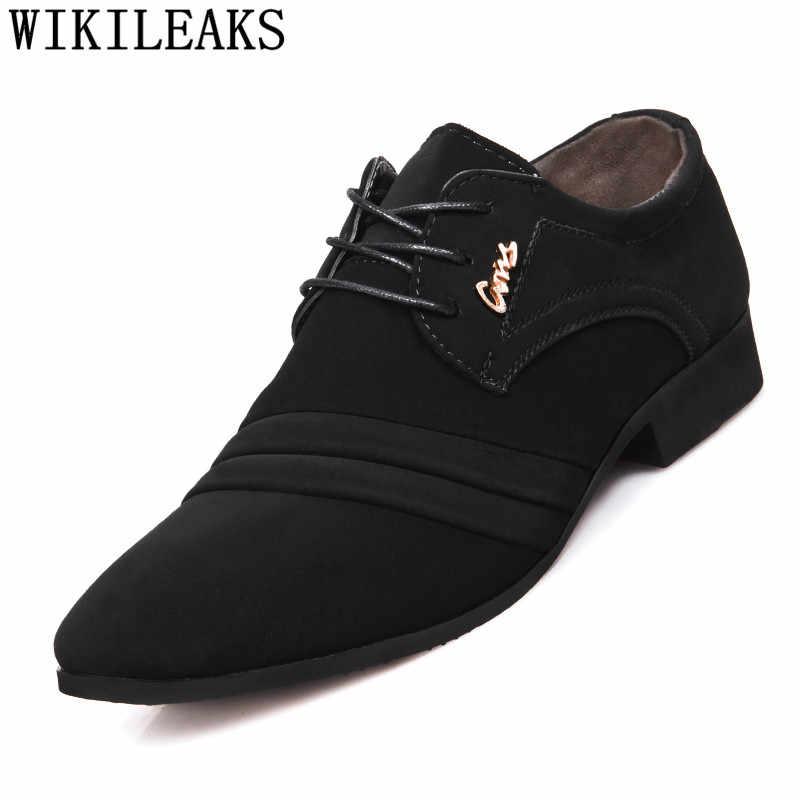 رجل فستان أحذية الزفاف أكسفورد أحذية لل حذاء رجالي الرسمي zapatos hombre mocassim masculino zapatillas hombre أحذية رجالي عادية