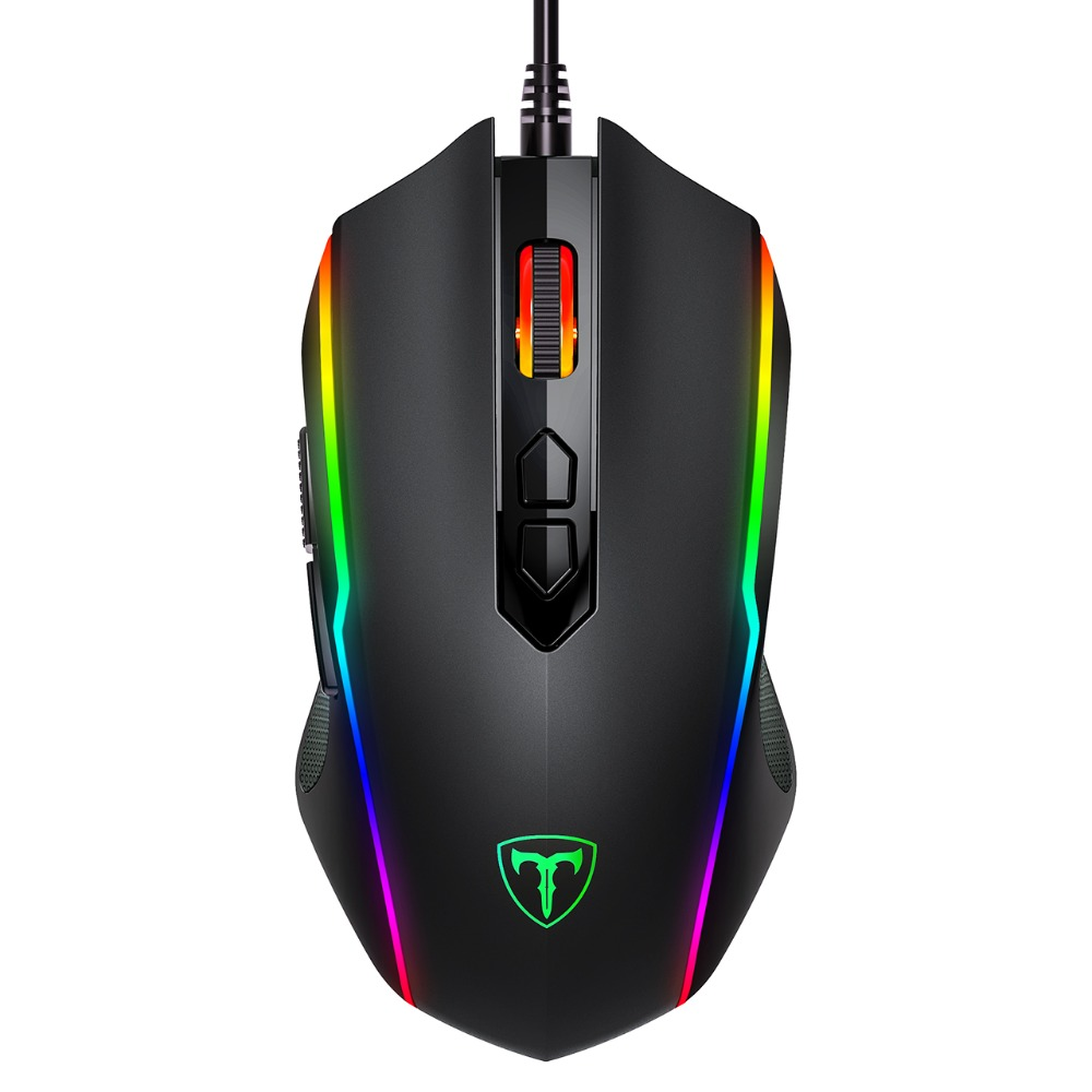 VicTsing PC205 Wired Gaming Mouse 8 Programmable Button 7200 DPI USB Computer Mouse Gamer Mice With RGB Backlight For PC Laptop (8)