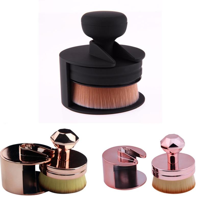 NEW Seal Stamp Makeup Brushes Cream For Foundation Powder Brush Set Soft Face Blush Brush Professional Cosmetics Make Up Tool
