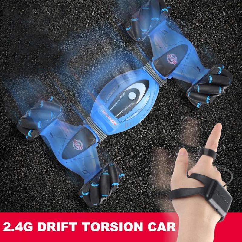 Радиоуправляемая машинка для скалолазания, игрушка, датчик жестов, дистанционное управление, внедорожный автомобиль, двусторонняя барабан... - 4