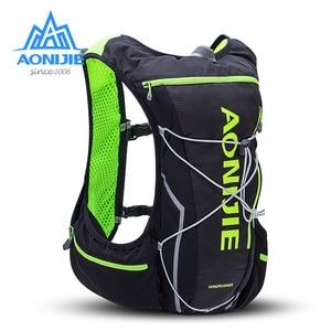 Image 1 - AONIJIE 10L Laufende Trink Pack Rucksack Tasche Weste Mit Wasser Blase Wandern Marathon Rennen Trail Sport