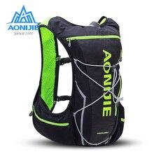 AONIJIE 10L 달리기 수화 팩 배낭 가방 조끼 물 방광 하이킹 마라톤 레이스 트레일 스포츠