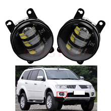 1 par conduziu a luz de nevoeiro da frente da lâmpada amortecedor luz para mitsubishi pajero sport/montero sport/nativa/prajero dakar