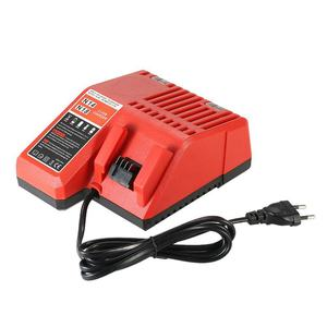 Eu Plug 18V Power Tool Lithium Battery Charger Replacement For Milwaukee M18(China)