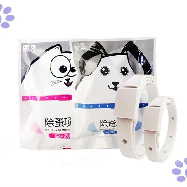 Adjustable Cat & Dog Collar Flea & Tick Prevention Pet Collar Pest Control Protect Rubber Flea Killer Collar Pet Accessories 4
