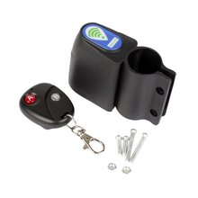 цена на Bicycle Lock Anti-theft Remote Control Mountain Road Bike Excellent Cycling Security Lock Vibration Alarm Bicycle Accessories