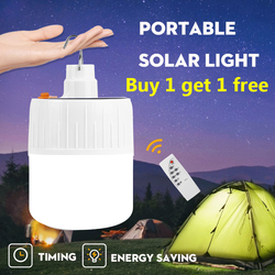 Portable Lantern Led Camping Light USB Rechargeable Solar Light Emergency Battery Fishing Lamp Outdoor Lighting Flashlight