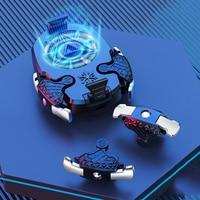 Celular gamer L1R1 de disparo rápido para móvil, disparadores de celdas para PUBG para llamada de servicio, para iphone y huawei, con ventilador de refrigeración