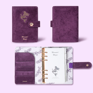Image 5 - Never Mermaid Series A6 Journals and Notebooks Spiral Planner Organizer Diary Book Set Ofice and School Supplies Gift Stationery
