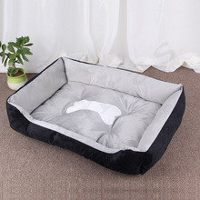 Pet Large Dog Kennel Cat House Bed For Golden Fur Teddy Warm Four Seasons Pet Mat Puppy Bed Dog Cage Pet Supplies