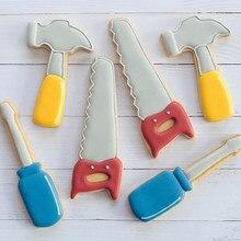 6 шт./компл. резак для печенья, металлический резак, Плунжер для печенья, сделай сам, инструмент для выпечки, трафареты, инструменты для выпеч...