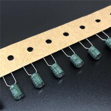 10 pces/50 pces 4.7 uf 50 v suncon (sanyo) sz série 5x7mm ampla faixa de temperatura 50v4.7uf alumínio capacitor eletrolítico