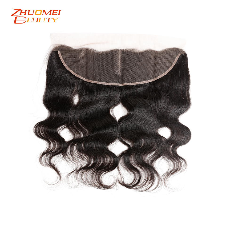 Brazilian Body Wave 3 Bundles With Frontal P Human Hair Bundles With Closure 13x4 Lace Frontal With Bundles Remy Hair Extensions
