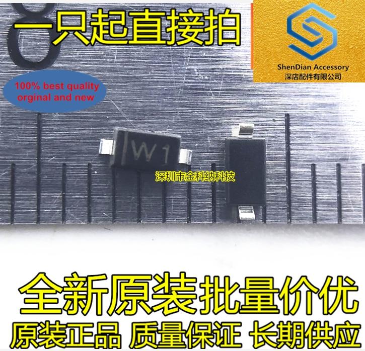 100pcs 100% Orginal New SMD Diode BZT52C2V7 Silk Screen W1 2.7V SOD-123 1206 SOD123 Voltage Regulator Real Photo