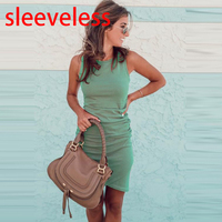 sleeveless green