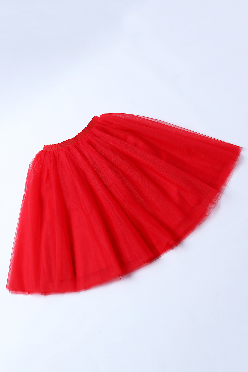 Купить с кэшбэком Short Red Tulle Wedding Pettciaot Crinoline Hoopless Woman Skirt Underskirt Adult Tutu Bridal Accessories 2020