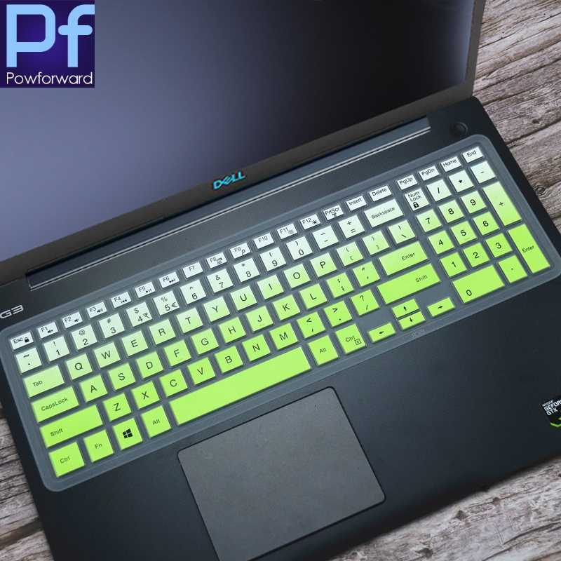"Cho 15.6 ""DELL Latitude 15 3500 3550 3560 3570 3580 3590 15 Inch Dẻo Silicone Laptop Bàn Phím Bao Da Bảo Vệ"