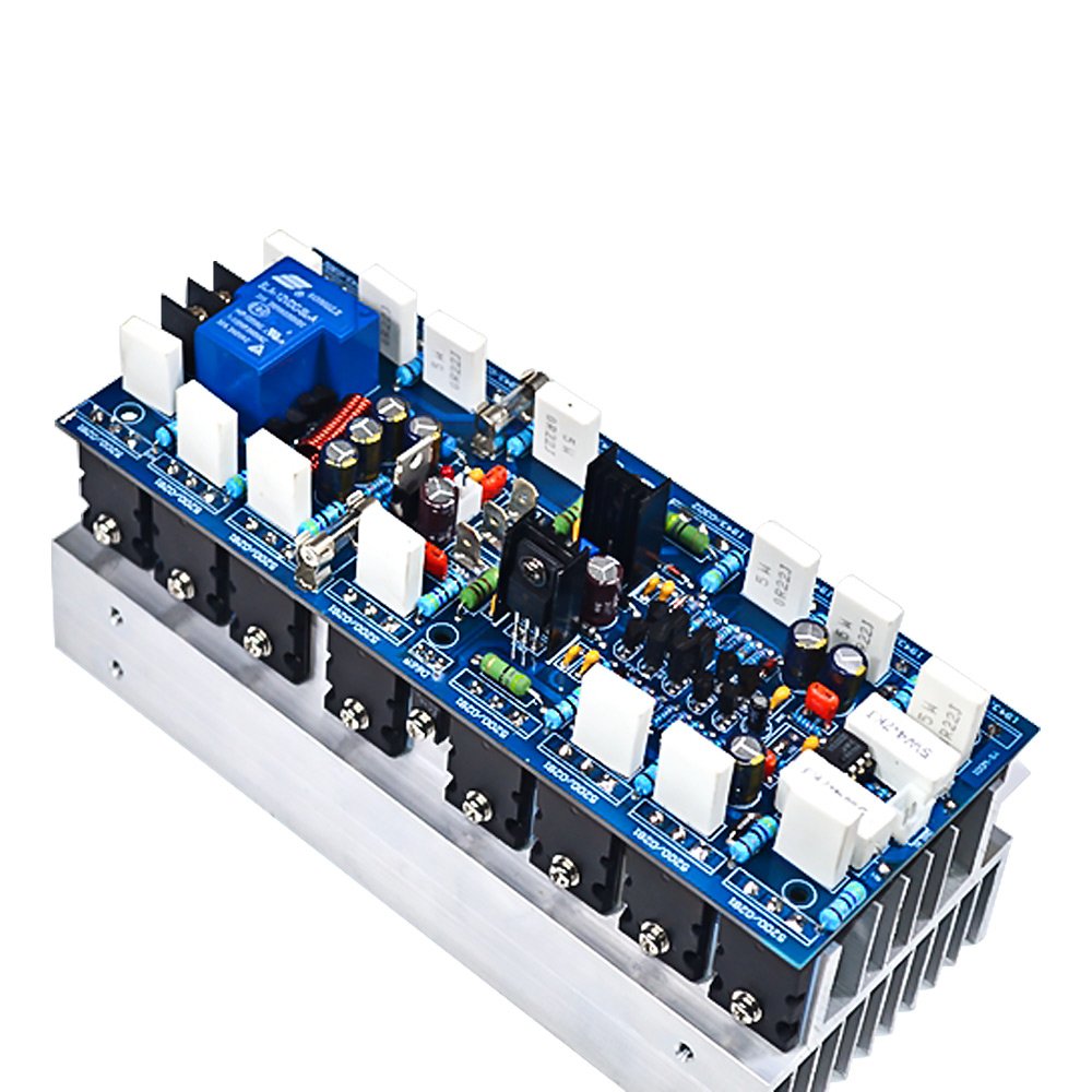 AIYIMA 1000W High Power Mono Channel Amplifier Board Professional Stage AMP Board With 5200 1943 Tubes For Sound Amplifiers DIY