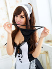 Sexy Apron Maid Outf...