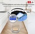 Робот-пылесос ILIFE V5s Pro  робот-щетка  мокрая швабра  предотвращающая эпиденмический и уменьшающая рост бактерий  Автоматическая перезарядка