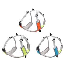 Pet Dog Harness Vest Adjustable Chest Strap with Buckle Breathable Reflective Collar for Medium Large Dogs Walking Pets Supplies colorful cute dog pet glossy reflective collar safety buckle bell strap 6 colors adjustable strap