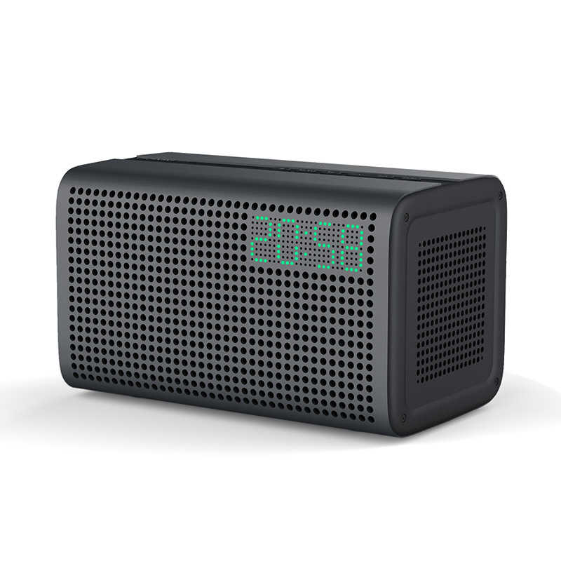 GGMM E3 Draadloze Bluetooth Speaker WiFi HiFi Muziek Speakers met LED Wekker Bluetooth Kolom Multi-kamer Play Luidsprekers
