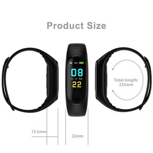 Image 3 - Smart Watch M3 Bracelet Wristband Heart Rate Monitor Blood Pressure Fitness Tracker Life Waterproof Sport Adult