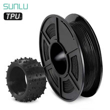 Sunlu ТПУ нити 3d Принтер Нити гибкий черный 175 мм 05 кг (11lb)