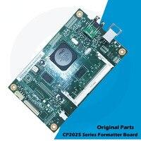 Novo original para hp cor laserjet cp2025 cp2025n 2025 placa de formatação lógica CB492-60002 CB492-60001